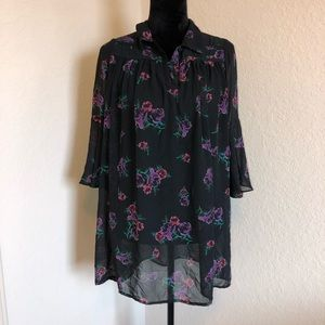 3/$30🌻Anthropologie Coincidence&Chance Tunic